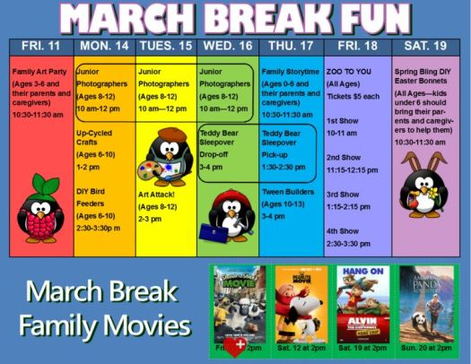 march break Library