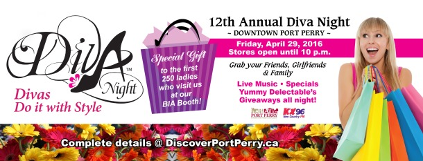 Port Perry Diva Night 2016
